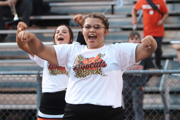 Cheerleaders during Thursday's football game of Summer's County vs Pikeview at Summer's County High School in Hinton. Jenny Harnish/The Register-Herald