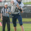 F. Brian Ferguson/Register-Herald Nicholas County's Dawson Brown throws a screen pass during Friday action in Oak Hill.