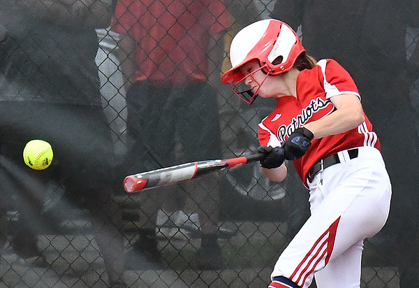 Jana Davis, of Independence, batting against, Oak Glen, during the Class AA Girls State Softball Tournament held at Little Creek Park in South Charleston.<br /> (Rick Barbero/The Register-Herald)
