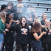Summers County fans cheer during Friday's game against Greenbrier West at Summers County High School. Jenny Harnish/The Register-Herald