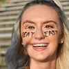 Woodrow Wilson lassie Clara Lively during game against Greenbrier East at VanMeter Stadium in Beckley Friday night.<br /> (Rick Barbero/The Register-Herald)