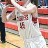 Beckley Christian's Allie Smith hits one of her many 3-point shots against Mt.View during Monday evening action in Beckley. F. Brian Ferguson