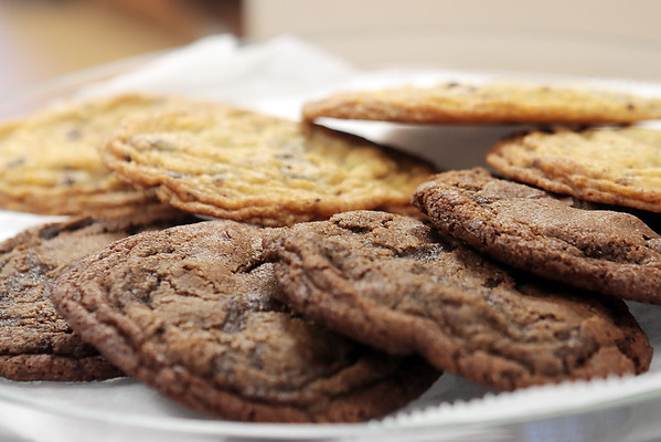 Chocolate chip cookies at Good Roads Bakery in Frankford. Jenny Harnish/The Register-Herald