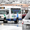 New River Transit bus making a stop at Beckley Walmart. <br /> (Rick Barbero/The Register-Herald)