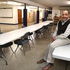 Bishop Fred Simms is providing space in the Heart of God Ministries Church on 1703 South Kanawha Street in Beckley for COVID-19 testing site on Thursday, January 28 and Saturday, January 30 from noon to 6 p.m.<br /> (Rick Barbero/The Register-Herald)