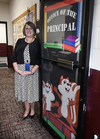 Theresa Lewis, principal Crescent Elementary School, lannounced Tuesday Crescent was awarded the Blue Ribbon School.