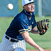 Shady Spring pitcher Thatcher Poreat delivers against Nicholas County during Monday action in Shady Spring. F. Brian Ferguson