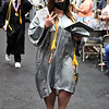 Westside graduate Whitlee Lester celebrates receiving her diploma.<br /> Jim Cook for the Register-Herald