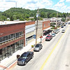 New businesses line the White Sulphur Springs downtown including Big Draft Brewing which will feature an outdoor stage for live events. Jenny Harnish for the Register-Herald
