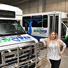 Heather Lilly, community planner New River Transit.<br /> (Rick Barbero/The Register-Herald)