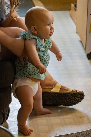 Wanting so much to walk!
