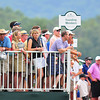 Spectators watching the 17th hole from the back of the Founding Members box during final round of The Greenbrier Classic.  Chris Tilley/The Register-Herald