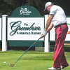 Jerry Kelly tees of during the Third-Round of play in The Greenbrier Classic on Saturday. Chris Tilley/The Register-Herald