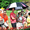 Crowd trying to stay cool during the third round of The Greenbrier Classic.<br /> Rick Barbero/The Register-Herald