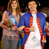Independence High School homecoming queen Kelsey Hart and her escort Chris Adkins.