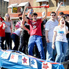 Independence High School Seniors during the Independence Homecoming Parade in downtown Sophia on Friday.