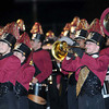 F. BRIAN FERGUSON/THE REGISTER-HERALD=Woodrow Wilson's Marching Band took the field as the Flying Eagles took on Parkersburg during Friday evening action in Beckley.