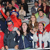 Independence fans cheering during game against Liberty Raiders at Independence High School<br /> Rick Barbero/The Register-Herald