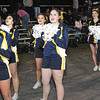 Greenbrier West Cheerleaders cheering during game against Fayetteville Friday night in Fayetteville.<br /> Rick Barbero/The Register-Herald