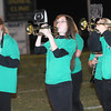 Fayetteville marching band performing before game against Greenbrier West Friday night in Fayetteville.<br /> Rick Barbero/The Register-Herald