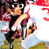 Woodrow Wilson's  Andrew Johnson runs the ball Friday night in their game with Hurricane Friday September 7th at Woodrow Wilson