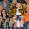Shady Spring fans cheer after the Tigers scored a touchdown against Greenbrier East Friday night in Fairlea.<br /> Rick Barbero/The Register-Herald