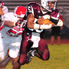 Woodrow Wilson's  Chase Hancock runs the ball Friday night in their game with Hurricane Friday September 7th at Woodrow Wilson