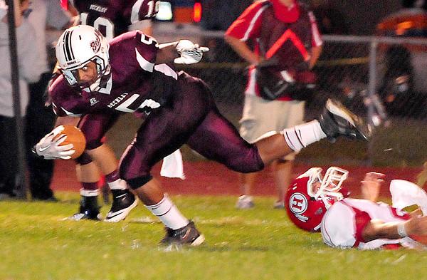 Woodrow Wilson vs Hurricane Friday September 7th at Woodrow Wilson  High School Chris Tilley /The Register-Herald