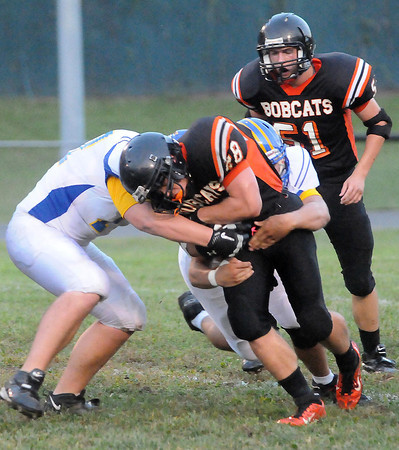 F. BRIAN FERGUSON/THE REGISTER-HERALD=Summers County takes on  Grafton on Friday evening in Brooks.