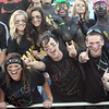 Shady Spring fans cheer during game against Independence Friday night at Shady Spring High School.<br /> Rick Barbero/The Register-Herald