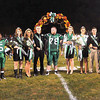 F. BRIAN FERGUSON/THE REGISTER-HERALD=Fayetteville's Homecoming Court was reconized at halftime during the Pirates game with Meadow Bridge.