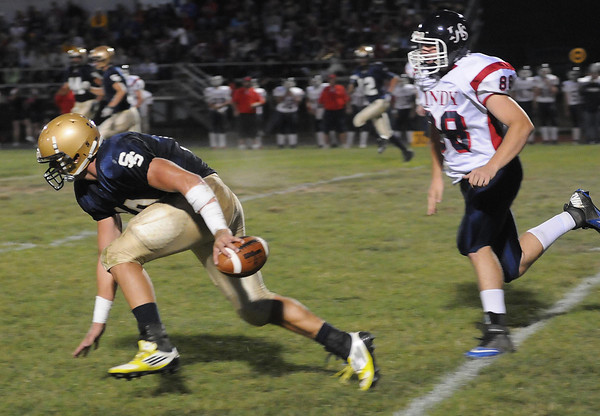 Shady Spring vs Independence Friday night at Shady Spring H.S.<br /> Rick Barbero/The Register-Herald