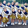 The Shady Springs High School cheerleaders during Friday Nights football game with Pikeview at Shady Spring High School.