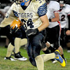 Shady Springs Jordan Palchesko runs the ball Friday night in their game with Pikeview at Shady Springs High School.