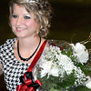 F. BRIAN FERGUSON/THE REGISTER-HERALD=Oak Hill Senior, Becky Nuckels wore the crown as this year's Oak Hill High School Homecoming Queen.