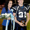 Meadow bridge High School Home coming king and queen Chandr Harrah and Cody White.