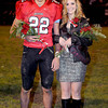 Liberty High School Home Coming Queen Kassidy Hall and her escort Mathew Balley.