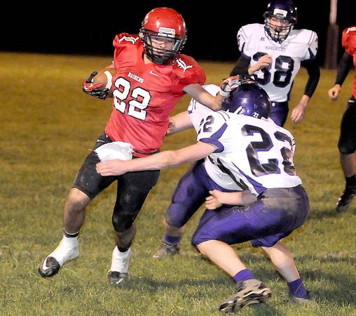 Liberty High School vs James Monroe  Friday October 19th at Liberty  High School Chris Tilley /The Register-Herald