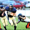 F. BRIAN FERGUSON/THE REGISTER-HERALD=Greenbrier West takes on Richwood in Charmco. August, 31, 2012