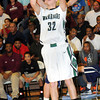 F. BRIAN FERGUSON/THE REGISTER-HERALD=Wyoming East's Christian Hedinger shoots  against Bluefield during Friday evening action in New Richmond.