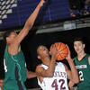 F. BRIAN FERGUSON/THE REGISTER-HERALD=Woodrow Welson took on Huntington on Friday evening in Beckley.
