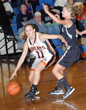 F. BRIAN FERGUSON/THE REGISTER-HERALD=Westside traveled to Summers County for Wednesday evening action in Brooks.