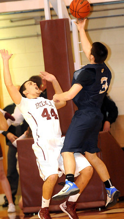 F. BRIAN FERGUSON/THE REGISTER-HERALD=Shady Spring took on Woodrow Wilson during Wednesday evening action in Bluefield.