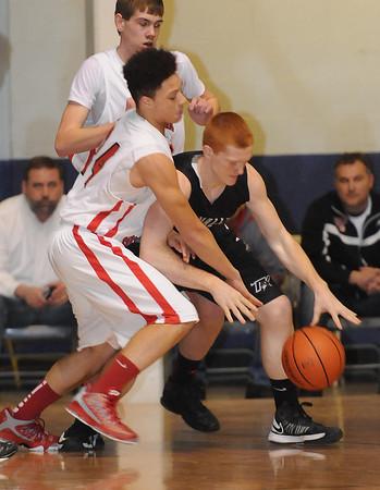 Greater Beckley Christian School vs Tug Valley.<br /> Rick Barbero/The Register-Herald