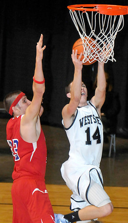 Westside High School vs Independence High School at the Beckley Convention Center. Photo by Chris Tilley