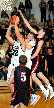 F. BRIAN FERGUSON/THE REGISTER-HERALD=Westsidetook on Pikeview during Wednesday evening action at Westside.