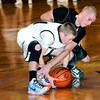 F. BRIAN FERGUSON/THE REGISTER-HERALD=Wyoming East takes on Westside during Thursday evening action in Beckley.