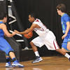 Bluefield vs Robert C. Byrd High School during the Class AA championship game at the Beckley-Raleigh County Convention Center.<br /> Rick Barbero/The Register-Herald