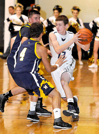Greenbrier West vs Moorefield  during the Big Atlantic Classic Tuesday at the Beckley Convention Center. Photo By Chris Tilley