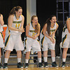 Greenbrier East vs University High School during the Big Atlantic Classic Class AAA championship game at the Beckley-Raleigh County Convention Center.<br /> Rick Barbero/The Register-Herald